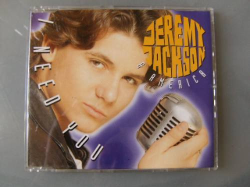 Cd Jeremy Jackson & America - I Need You  Single Importado Original
