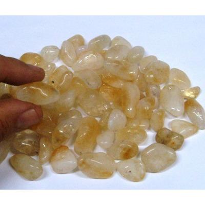 Dal Corsi Pedras Roladas Citrino 10 Pedras  Só 6,00 em Suzano