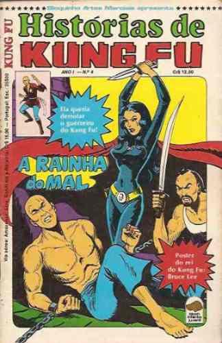Histórias De Kung Fu Nº 4: Yang - Bruce Lee - Bloch - 1979 Original