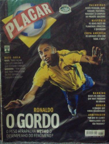 Revista Placar Julho 2004 Edição 1272() Original
