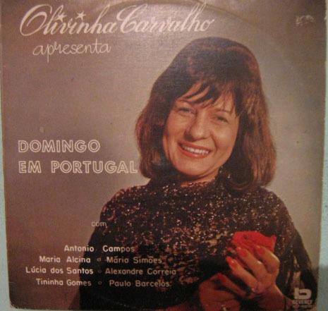 Olivinha Carvalho - Domingo Em Portugal - 1975 Original