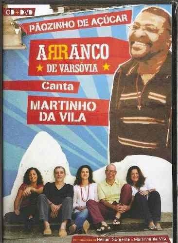 Dvd + Cd Arranco De Varsóvia Canta Martinho Da Vila Lacrado! Original
