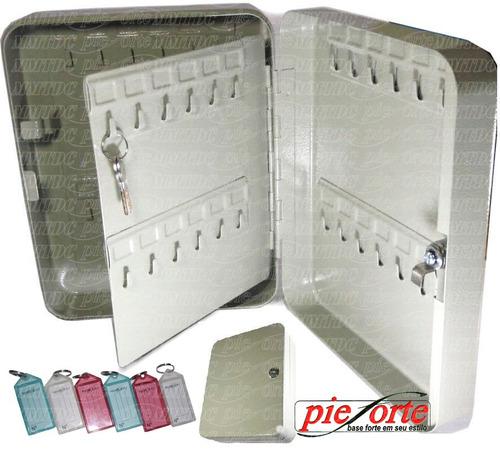 Porta Chaves (claviculário) 48 Chaves + 50 Chaveiros