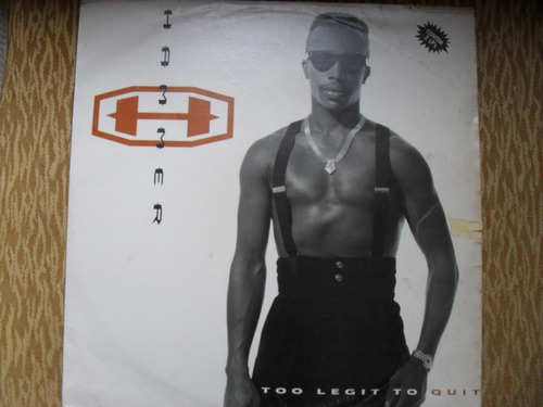 Vinil- Mc Hammer - 2lp´s Too Legit To Quit  Hip - Hop Original