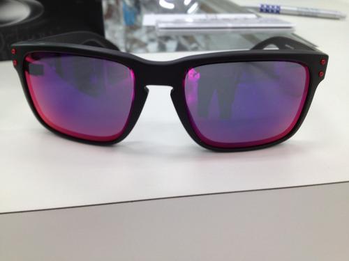 Comprar Oculos Oakley Holbrook 009102l-36 Matte Black L .red Iridium ... c09b1cd0bc