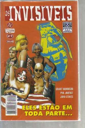 Os Invisiveis Numero 1 - Editora Magnum Original