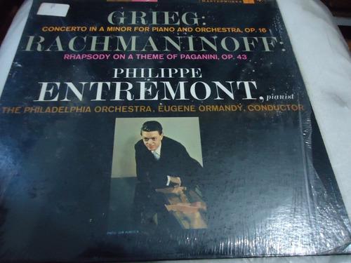 Lp - Grieg Concerto In A Minor Rachmaninoff* / Class.  (d1) Original