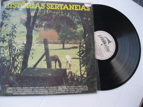 Lp Vinil  -  Histórias Sertanejas Original