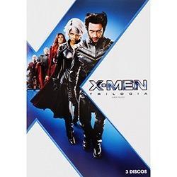 Box - X- Men - Trilogia - 3 Dvds - Lacrado Original