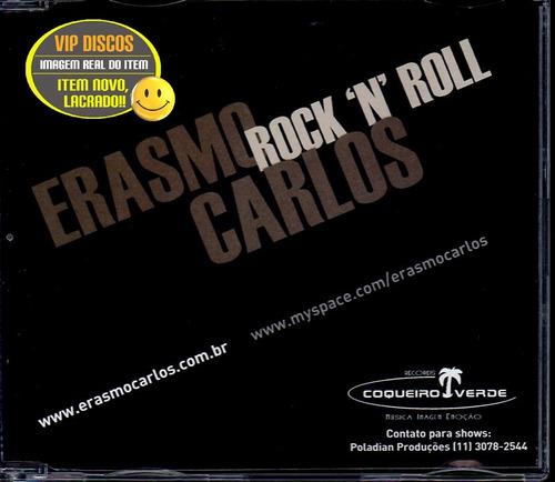 Erasmo Carlos Cd Single Rock´n´roll 4 Faixas - Lacrado Original