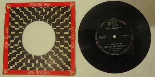 Disco Compacto Simples - Pat Boone -mai, Mai, Mai, Valentina Original