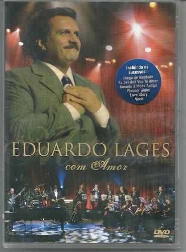 Dvd Eduardo Lages - Com Amor- Eleonor Rigby, Chega De Saudad Original