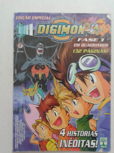 Lote (10) Revistas Digimon Recreio Anime Atlantis Original