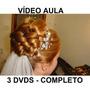 Cabeleireiro, Penteados Profissionais 3 Dvds! Completo R5z