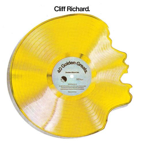 Cd Duplo Cliff Richard 40 Golden Greats (importado) Original
