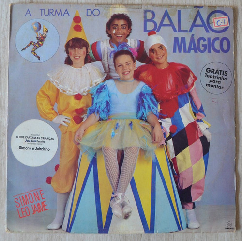 Lp Vinil - A Turma Do Balão Mágico 1986 Original