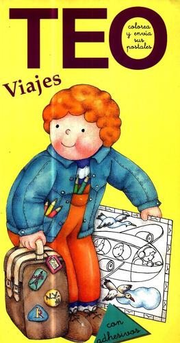 Livro Infantil Em Espanhol Teo Colorea Y Envia Sus Postales Original