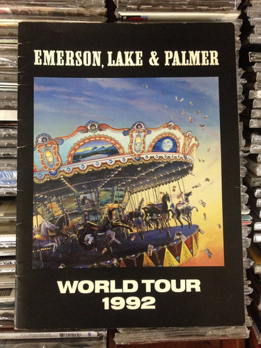 Tourbook Emerson Lake & Palmer World Tour 1992 Original