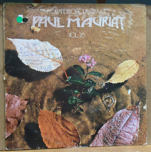 Lp (072) Vinil - Orquestras - Paul Mauriat Vol. 28 Original