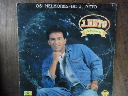 Lp  J. Neto - Os Melhores De J. Neto  Usado Com Garantia Original