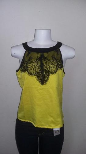 Blusa Renda Zipper Original