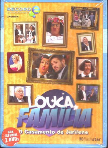 Dvd Louca Família - 2 Discos - Tom Cavalcante - Lacrado Original