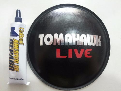 Calota Protetor Para Alto Falante Tomahawk Live 160mm + Cola Original