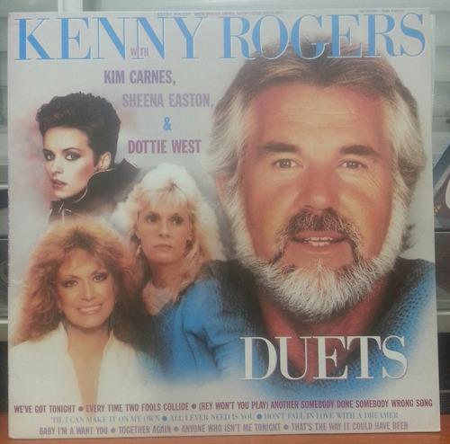 Kenny Rogers  Duets  1987 (lp Zerado) Original
