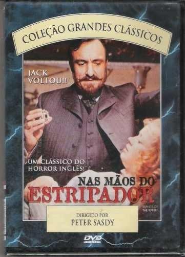 Dvd Nas Mãos Do Estripador - Coleção Grandes Clássicos Original