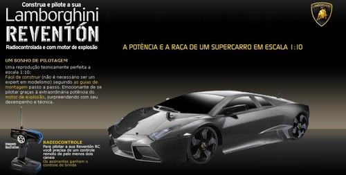 Comprar Lamborghini Reventon Planeta Deagostini Apenas R 50 00