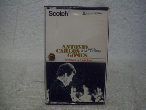 Fita Cassete Antônio Carlos Gomes- Sinfônica De Campinas Original