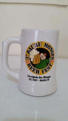 Caneca 3°bauru Monges Beer Fest