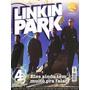 Revista Pôster Linkin Park Raríssima! = Gigante 52cm X 81cm!