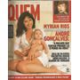 Revista Quem 80 2002 Xuxa Eliane Giardini Carla Perez