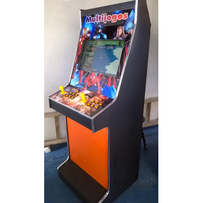 Máquina Multijogos Lcd 22 Arcade 10 Sistemas 3500 Jogos em Osasco