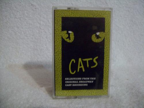 Fita Cassete  Cats- Broadway Cast Original