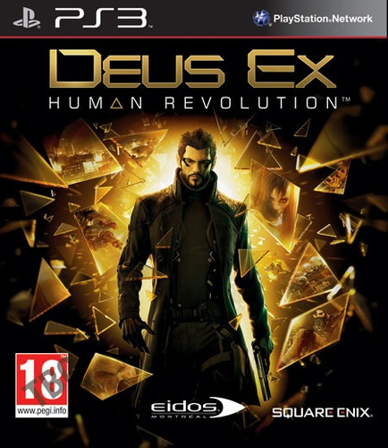 Deus Ex Human Revolution Pronta Entrega Retire Em Maos Original