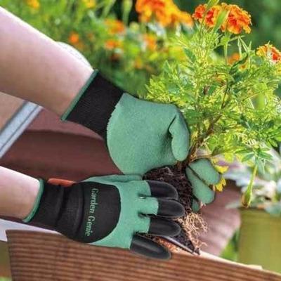 Resultado de imagem para Par Luvas Plantar Garden Genie Gloves