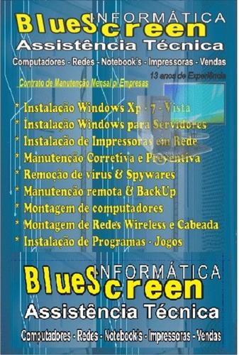 Vendas Computadores Notebooks Serviços Bluescreeninformatica Original