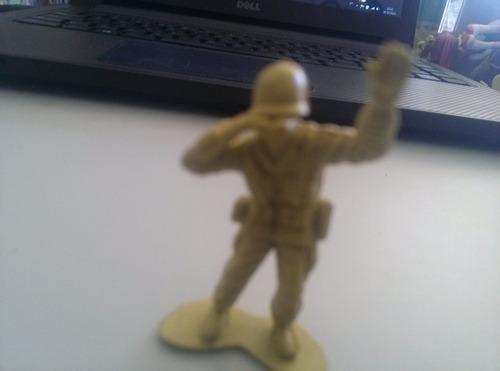 Bonecos Forte Apache Amarelo Soldado Com Binoculo Original