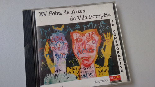 Cd Xv Feira De Arte Da Vila Pompeia Luis Carlini Tutti Fruti Original
