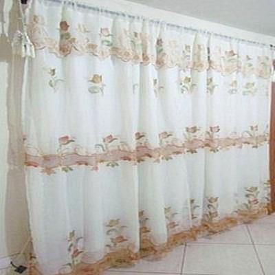 Cortina bordada para sala e quarto 3 00x 2 30 sala linda for Cortinas de moda