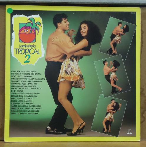 Lp (067) Coletâneas - Lambateria Tropical 2 Original