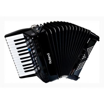 Acordeon Roland Fr1x Bk + Bag Fr1 Na Cheiro De Música em Niterói
