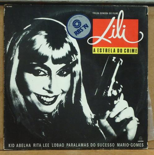 Lp (226) Vários - Lili A Estrela Do Crime Original