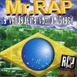 Cd Mr. Rap A Verdadeira Voz Do Brasil Original