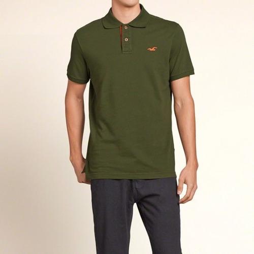 Camisa Polo Hollister Masculina Original - Tam P, M E G P16