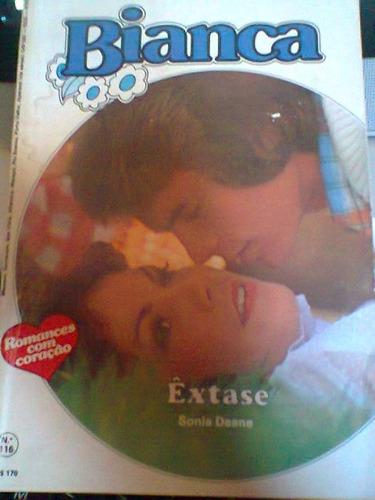 Êxtase -- Sonia Deane-- Bianca Nº 116. Original