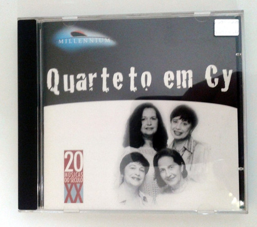 Cd Quarteto Em Cy - 20 Músicas Do Século 20 ( Impecável ) Original