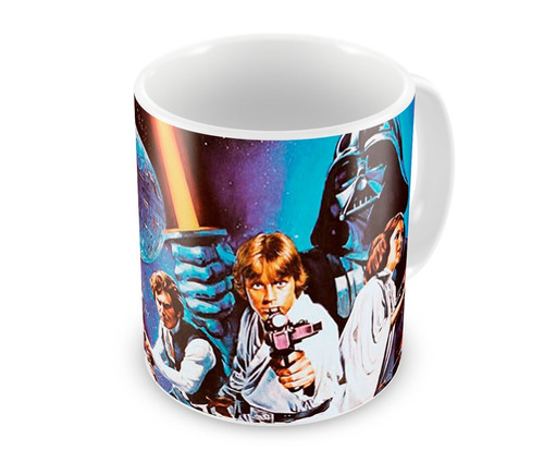 Caneca de Porcelana  Star Wars